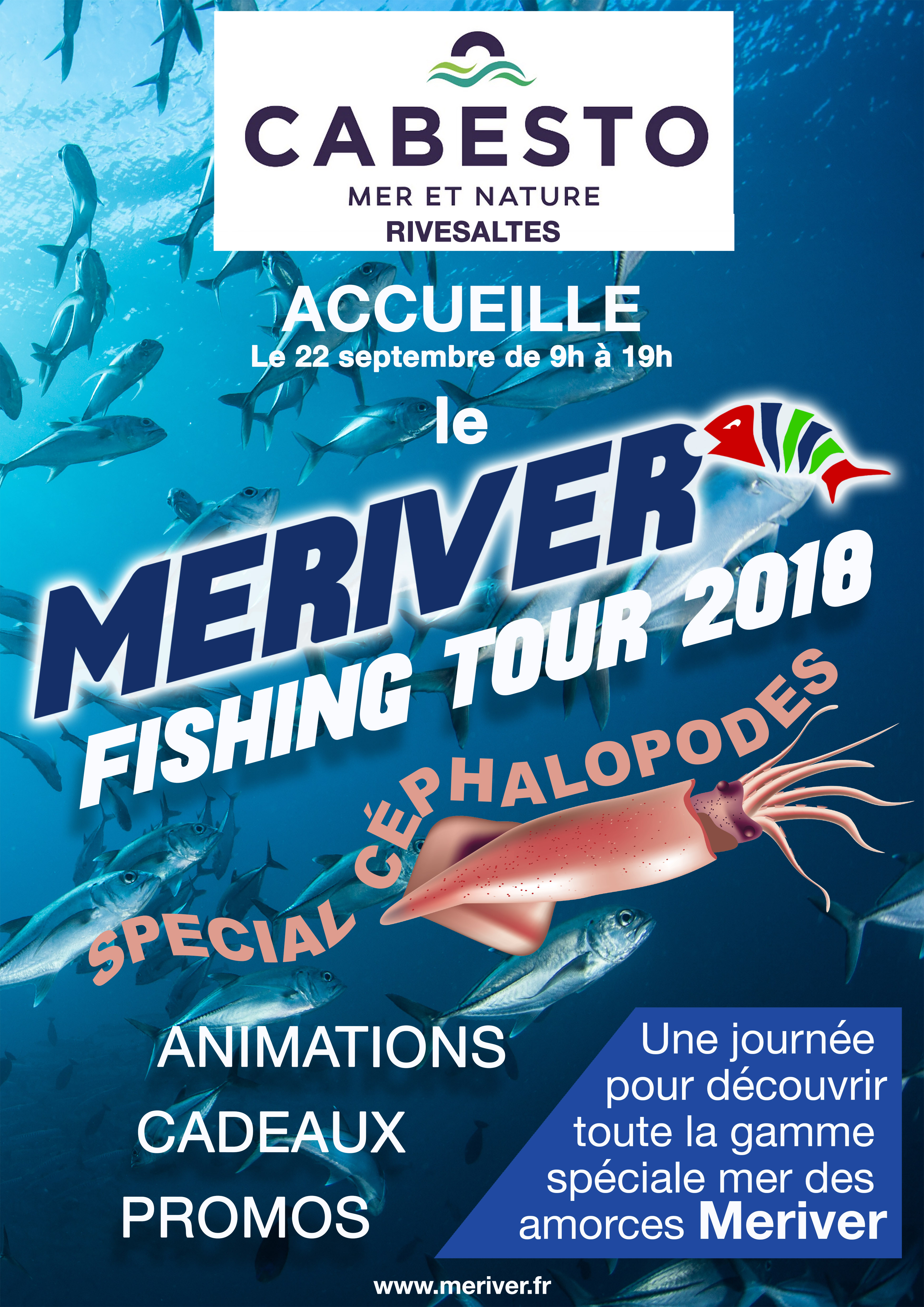 Meriver Fishing tour 2018 RIVESALTES
